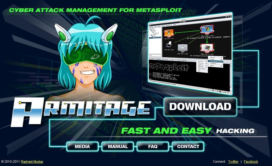 Armitage, GUI para Cyber Attack Management con Metasploit